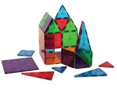 Magna-Tiles Translucent Colors 100 Pieces